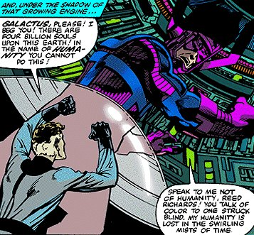 Begging Galactus Doesn't Work
