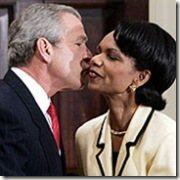 president-bush-kissing-condoleezza-rice